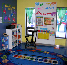 Toddler transition Room 1
